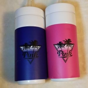 PINK Retro Insulated Water Bottles VS